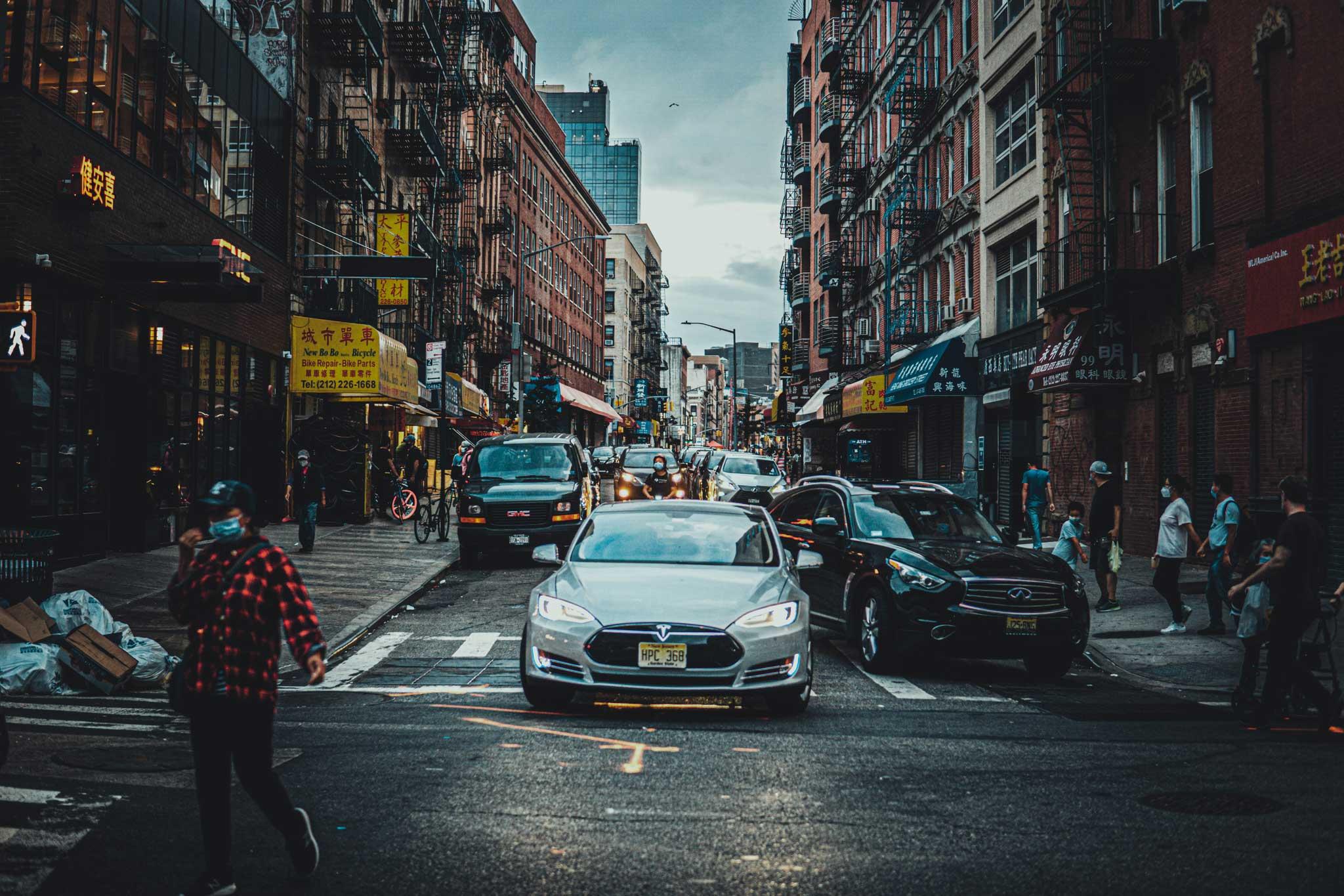 El barrio chino en nueva york